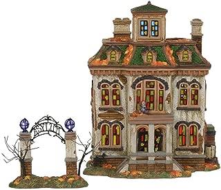 Department56 Snow Village Halloween Last Laugh Asylum Lit Building, 10.75
