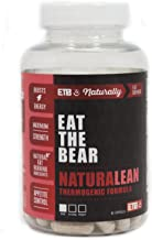 ETB NaturaLean Thermogenic Fat Burner - Weight Loss Supplement - 90 Capsules