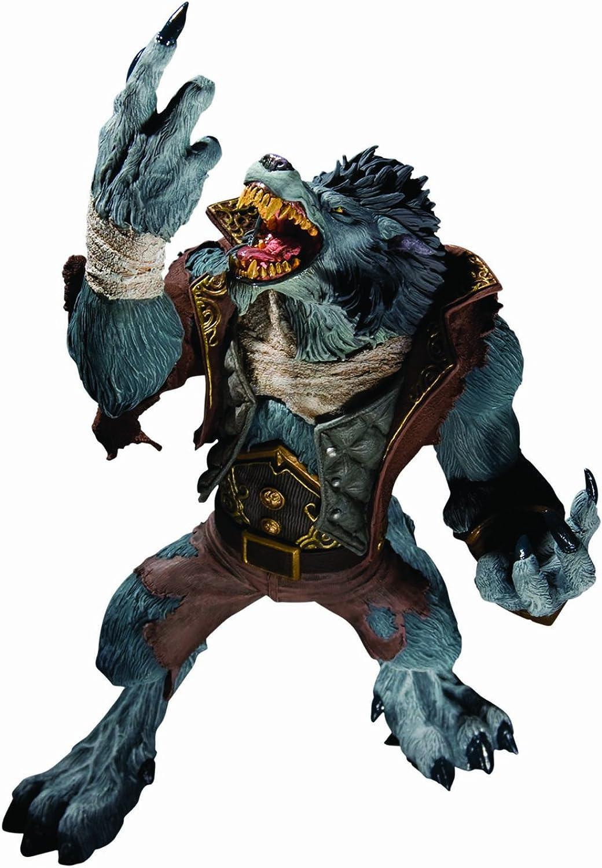 World of Warcraft Series 7 Action figure Worgen Spy Garm Whitefang