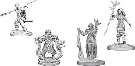 Dungeons & Dragons Nolzur's Marvelous Unpainted Miniatures Bundle: Human Male Druid & Human Female Druid