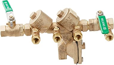 Wilkins 12-975XL2 1/2-Inch Lead Free Reduced Pressure Backflow Preventer