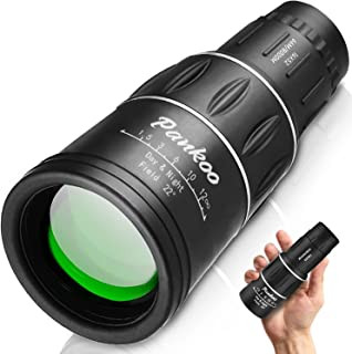 Pankoo 16X52 Monocular Telescope, High Power Prism Compact Monoculars for Adults Kids HD Monocular Scope for Bird Watching...