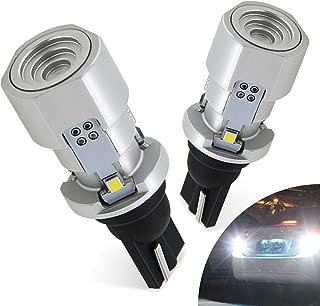 AUXITO 921 912 LED Bulb Canbus Error Free Super Bright 2020 SMD 2400 Lumens for Backup Reverse Light 6500K Xenon White