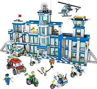 Building Blocks Multi-Functional Assembling Toys Inserting Blocks Building Police Station Series Model 1397 Blocks