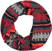 🌸🌸HYIRI Soft Cozy Unisex Winter Print Warm Loop Zipper Secret Pocket Infinity Scarf Shawl Ring