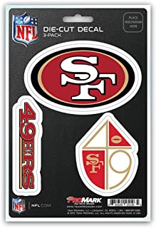 NFL Team Decal - Pack of 3