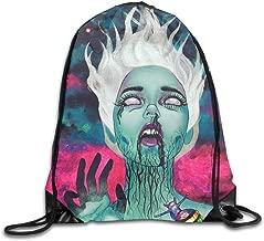 Galaxy Goth Gotik Gothic Women Girl Art Drawstring Backpack Bag Beam Mouth Gym Sack Shoulder Bags For Men & Women