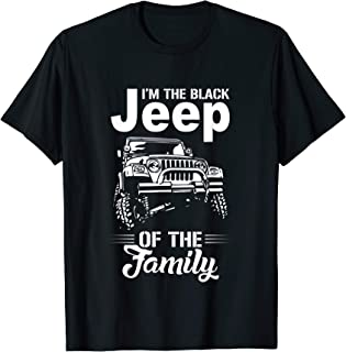 I'm the Black Jeep of the Family t-shirt American Flag Jeep
