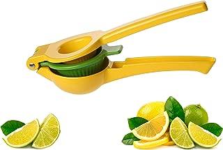 Manual Citrus Press Juicer- Premium Quality Metal Lemon & Lime Squeezer -Aluminum- by Vollum
