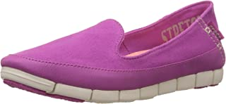crocs Women's Stretch Sole Skimmer W Canvas Loafers and Mocassins