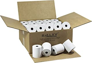 (50 Rolls) BPA FREE ROLLXY Thermal Paper - 3-1/8 x 230 Feet (CT-S300)