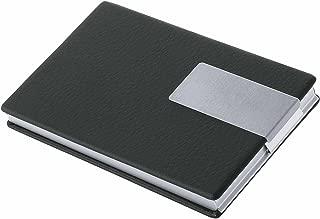 Wedo 80042-2 - Estuche para tarjetas de visita, color negro