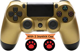 $39 » FJP Wireless Controller for Playstation 4, Game Console PS4 Gamepad Bluetooth Wireless Controller Dual Vibration (with 2pc...