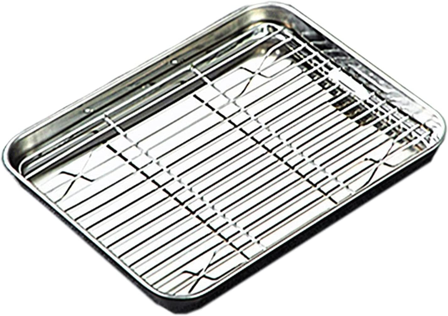 Tray With Removable Rack Set Stainless Cheap sale Ove Cooling For Steel Finally popular brand Pan