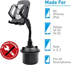 2020 New Benefree Cup Holder Phone Mount Universal Adjustable Gooseneck Cup Holder Cradle Car Mount for Cell Phone iPhone 11/11 pro/Xs/XS/Max/X/8/7 Plus/Galaxy/Huawei(Gray)