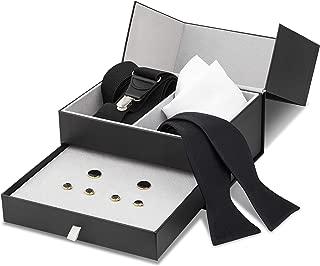 Tuxedo Set - Suspenders, Cufflinks & Studs, Bow Tie, Pocket Square & Box