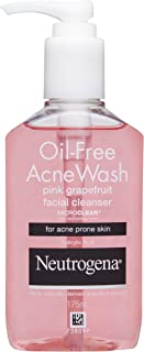 Neutrogena Pink Oil-Free Acne Wash Facial Cleanser, 175ml