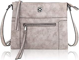 Angel Kiss Umhängetasche Damen Handtaschen Mädchen Schultertasche Schultertasche aus echtem Leder Mode Geldbörsen für Part...