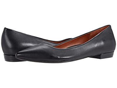 VIONIC Lena (Black Leather) Women