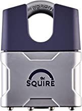 Henry Squire Gesloten beugel Diecast Body hangslot met boriumsluiting, 55 mm (lengte)