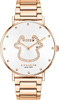 COACH PERRY WOMEN's SILVER WHITE DIAL WATCH - 14503708