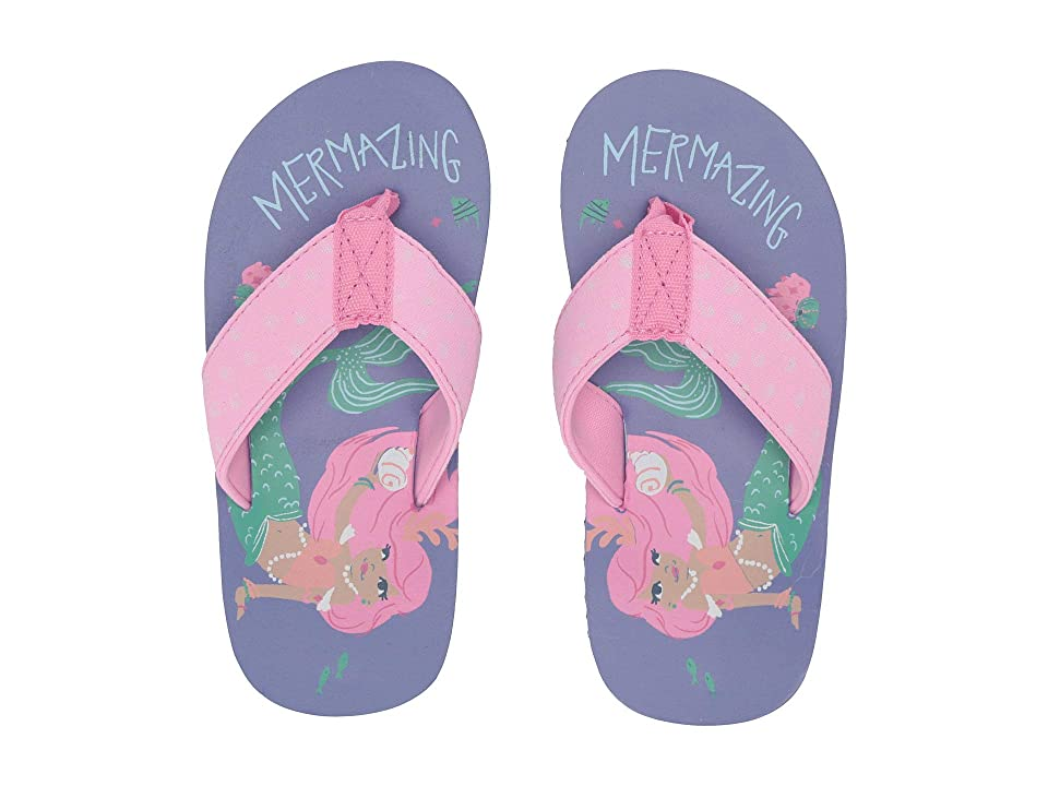 Hatley Kids Limited Edition Flip-Flop (Toddler/Little Kid) (Mermaud Tales) Girl