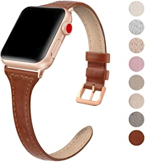 Best thin leather apple watch band Reviews