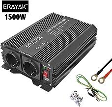 Cantonape Inversor de Corriente Onda Sinusoidal Pura 3000W//6000W Convertidor 12V a 220V 230V con Control Remoto Salidas de AC Dobles /& Pantalla 2 LED para el Uso en el hogar del Carro de RV
