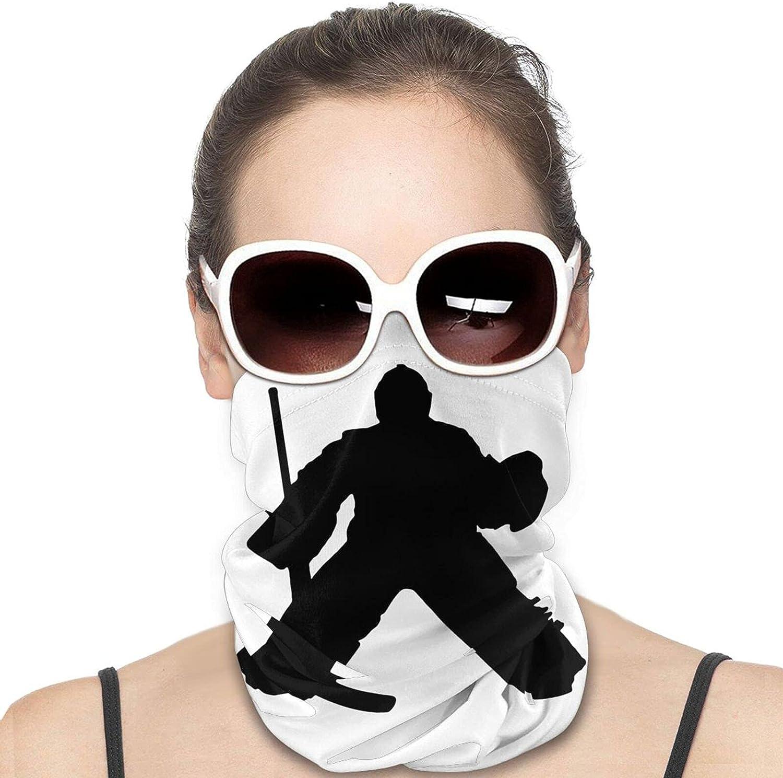 Hockey Goalie Neck Gaiter Windproof Face Cover Balaclava Outdoors Magic Scarf Headband for Men Women Motorcycling Fishing Running Climbing