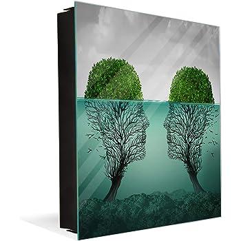 Caja Decorativa para Llaves con imágenes a Elegir K11 Concepto de Amor moribundo: Amazon.es: Hogar