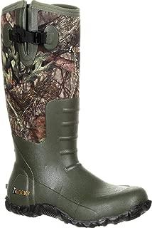 Men's Core Rubber Waterproof Outdoor Boot Round Toe - Rks0350