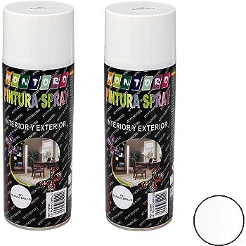 Montoro - Pack de 2 botes de pintura en spray Blanco Brillo A21 ...