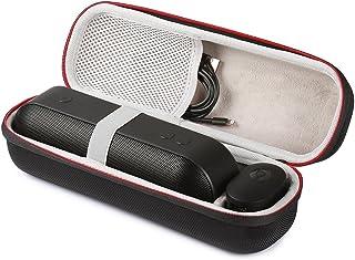 LuckyNV Transporte Bolsa Caso Duro para Apple Dr. Dre Beats Pill + Bluetooth Altavoz portátil inalámbrico & accesorios de viaje