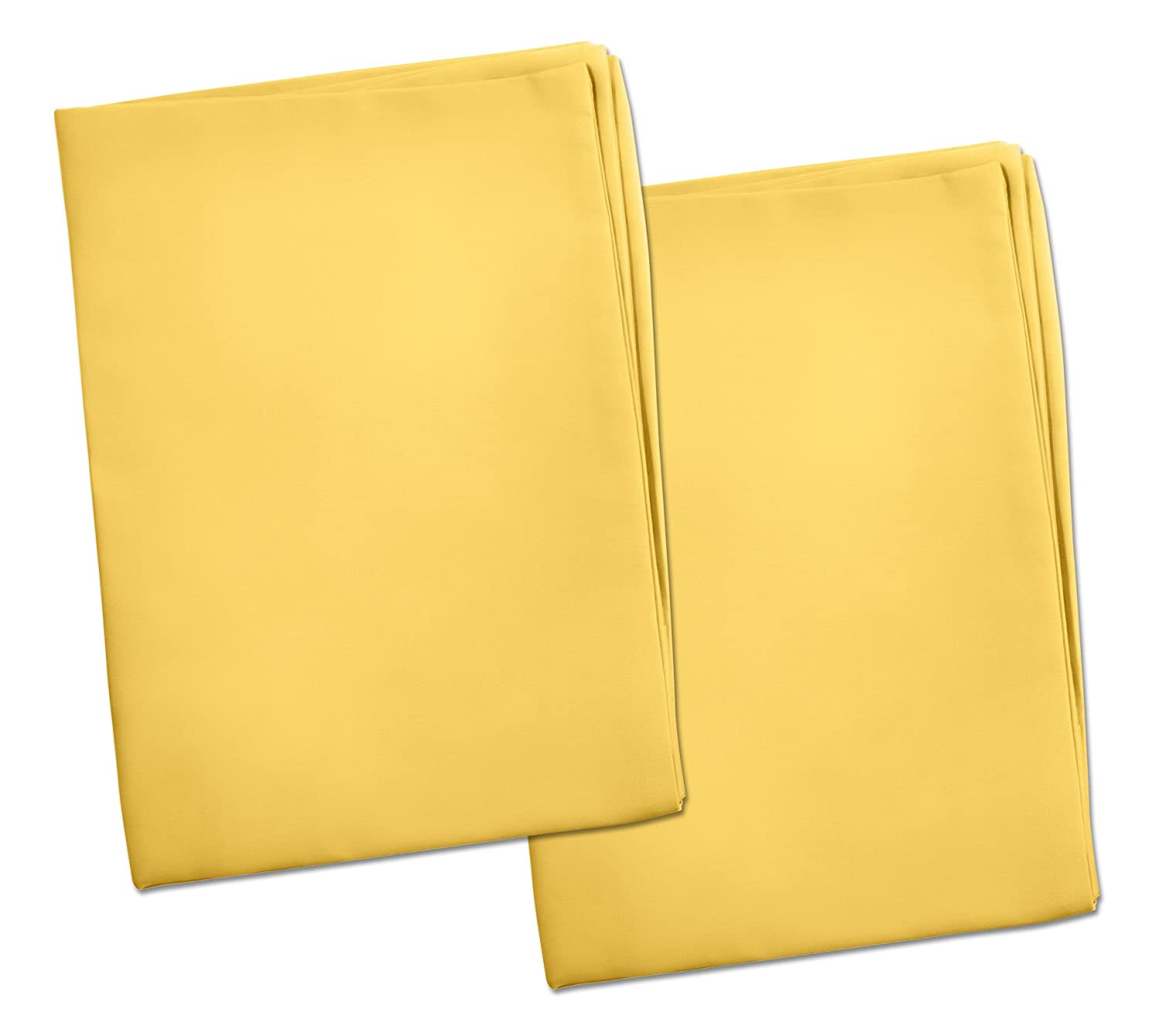 Bombing new work 2 Yellow Toddler National products Pillowcases - Style Size Pillows for Envelope