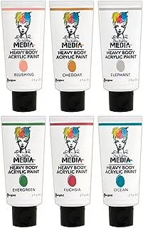 Dina Wakley Media Ranger Heavy Body Acrylic Paints - 2016 New Colors Bundle