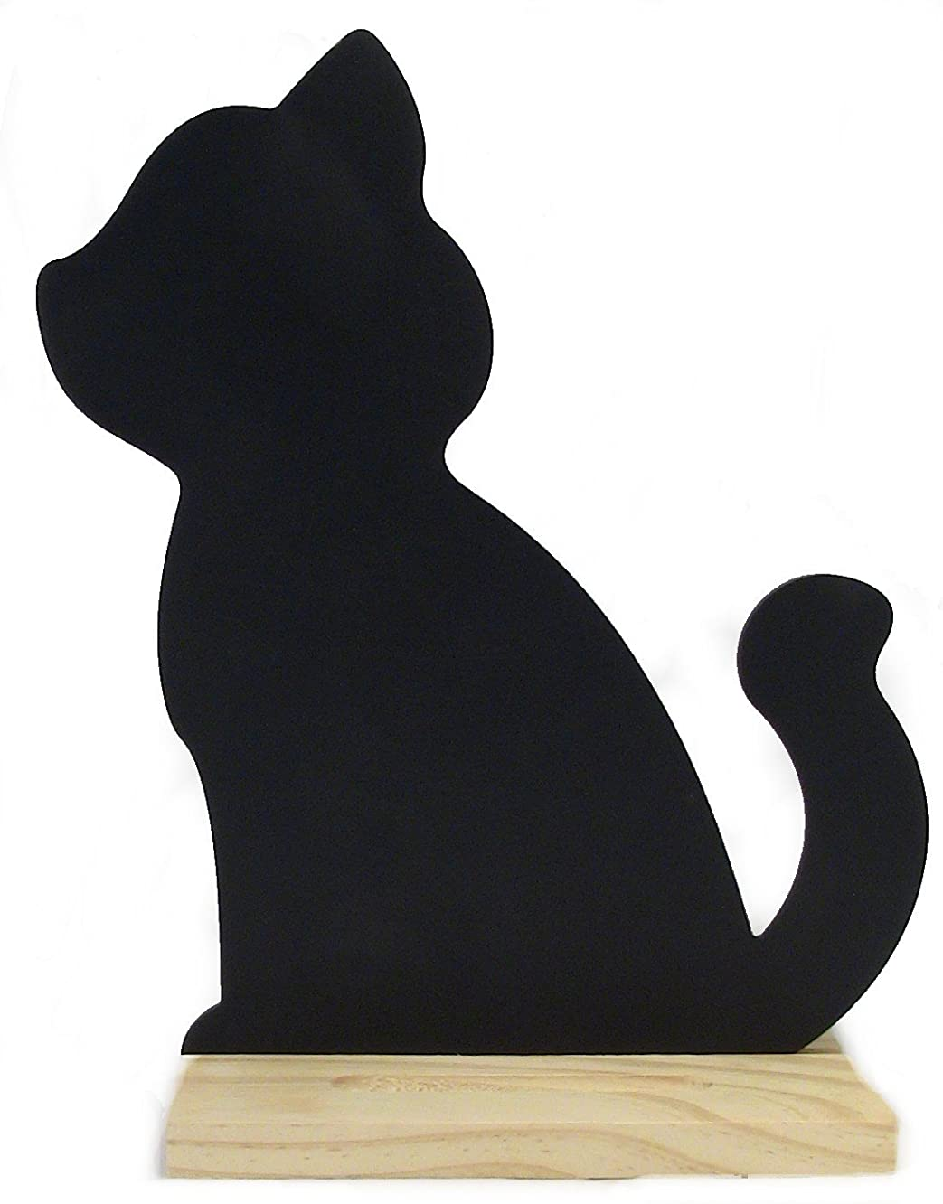 DARICE 9190-951 Chalk Board Icon Wbase Cat, Multicolor