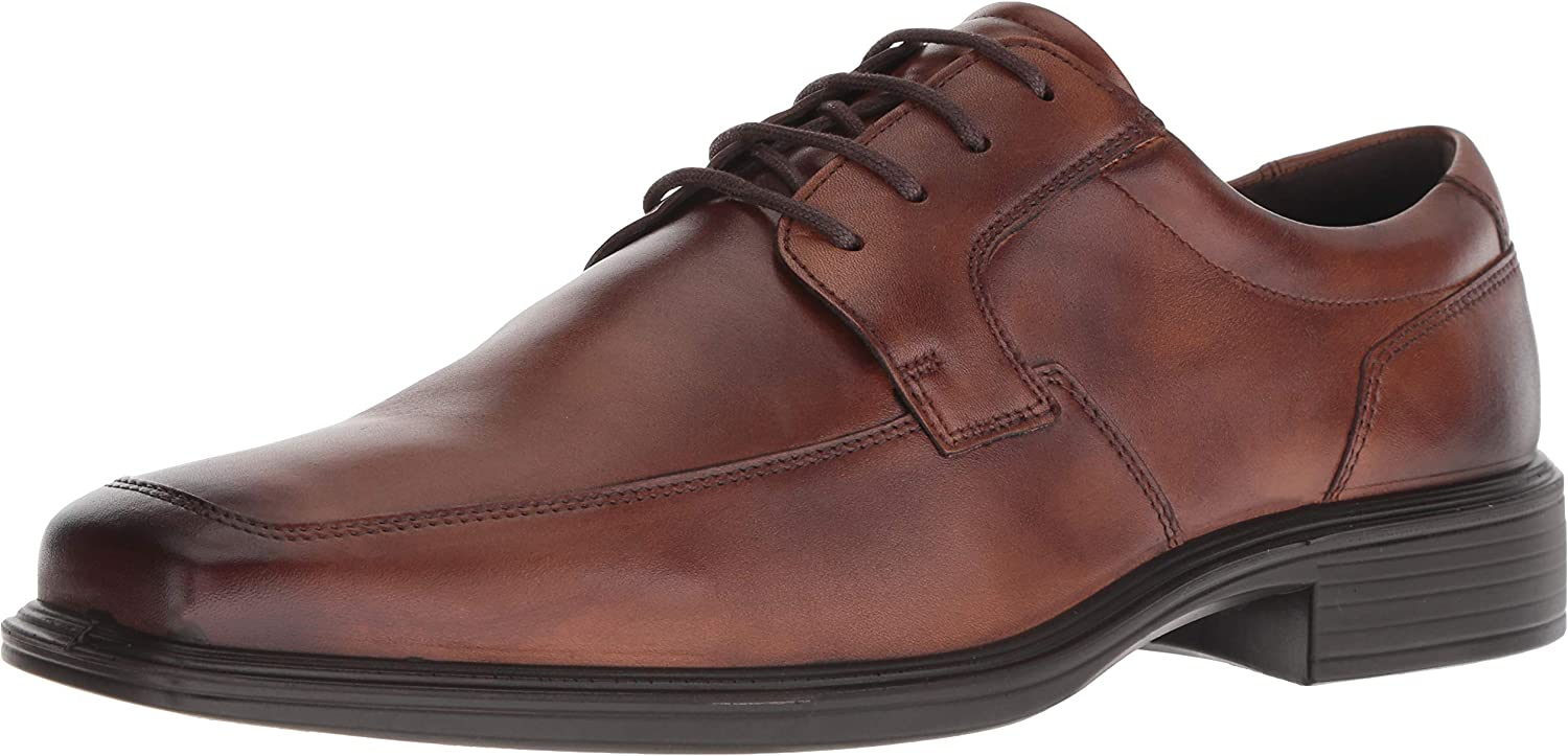 ECCO Men's Minneapolis Apron Toe Tie Oxford