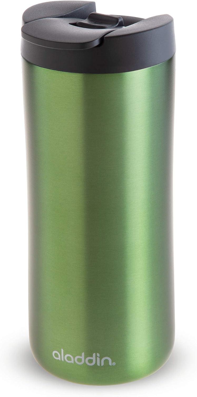 Aladdin Leak-Lock Thermavac Stainless Steel 0.35L Green Thermal