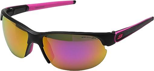 Matte Black/Pink with Spectron 3 color flash Lens