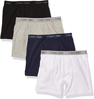 Calvin Klein Boys Underwear 4 Pack Boxer