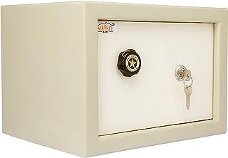 "LAXMI KAPAT Safe/Ultra Safe/Security Safe/Key Locker Safe (H - 10"" X W - 14"" X D - 11"" - inch, Powder Coated Finish, Mild ..."