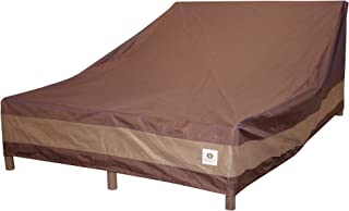 Duck Covers Ultimate Double Patio Chaise Lounge Cover, 82-Inch