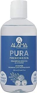 A ALAMA Professional Shampoo Doccia Pura Freschezza, Giallo, 250 Millilitri