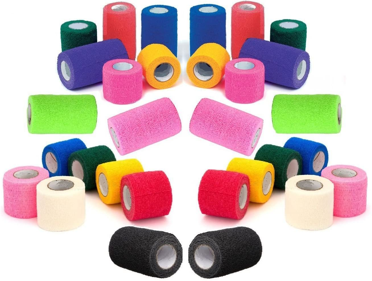 Vet Wrap Tape Bulk Assorted and Max 46% OFF Colors Quantity limited 18 6 12 Camouflage