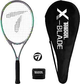 Teloon Recreational Adult Tennis Rackets-27 inch Tennis Racquet for Men and Women College Students Beginner Tennis Racket.