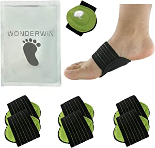 Arch Support,3 Pairs Compression Fasciitis Cushioned Support Sleeves, Plantar Fasciitis Foot Relief Cushions for Plantar F...