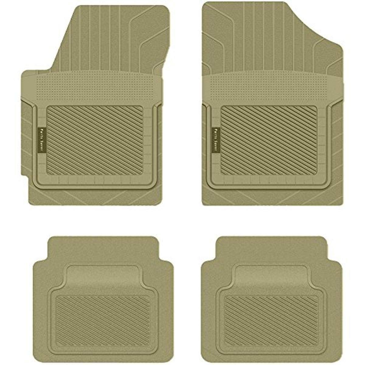 Custom Fit Car Mat 4PC PantsSaver Tan 0815013