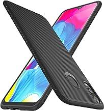 iBetter per Samsung Galaxy M20 Cover, Samsung Galaxy M20 Soft Rubber Protettiva Cover, Protezione Durevole, Compatibilita esatta per la Samsung Galaxy M20 Smartphone.(Nero)