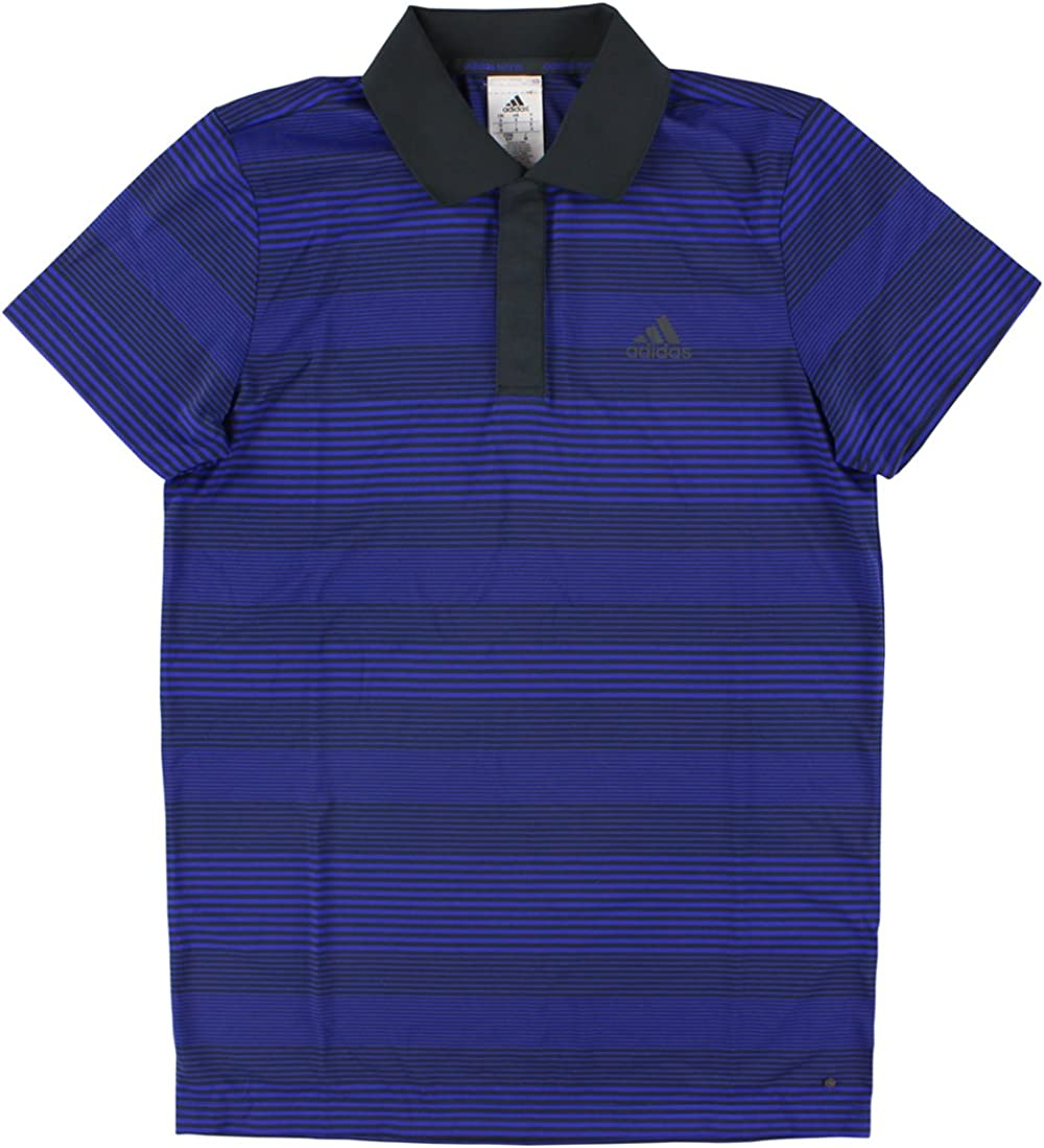 adidas Performance Men's Tennis Classic Stripe Sequencials A surprise price is Sale item realized Polo