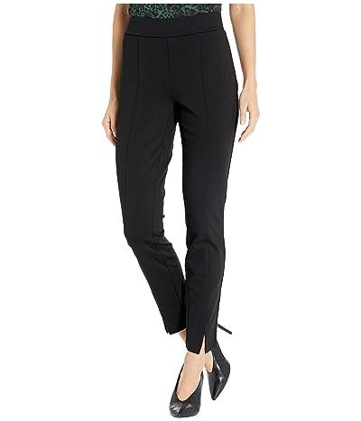 NYDJ Basic Leggings with Front Slit in Black (Black) Women